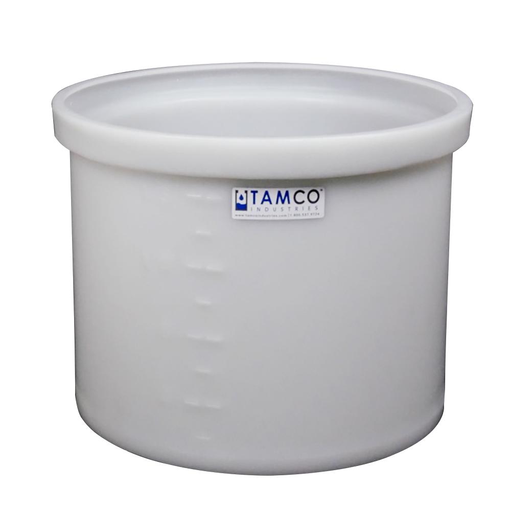 "17 Gallon Polyethylene Tamco® Tank - 18"" Dia. x 15"" Hgt."