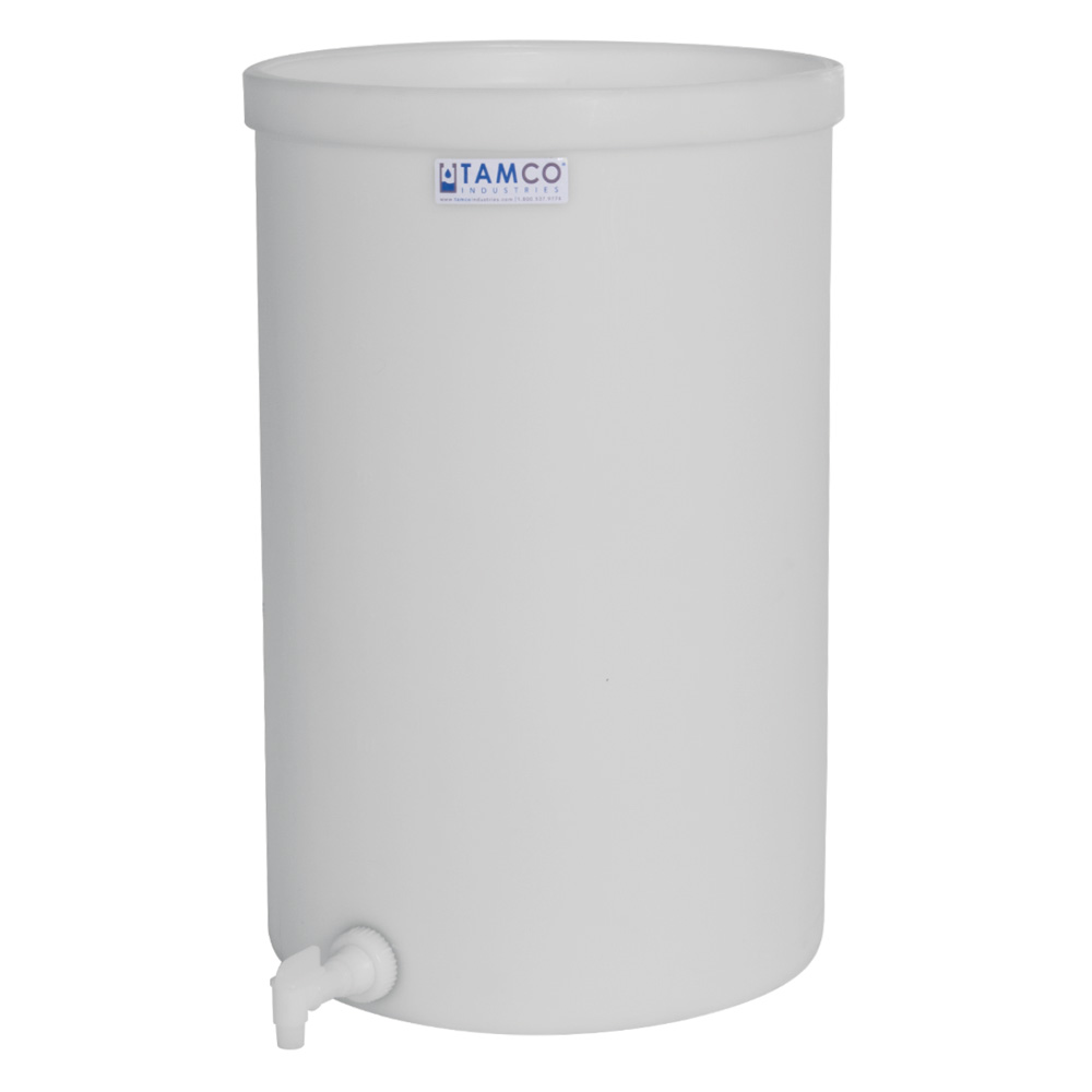 "5 Gallon Heavy Weight Tank with Spigot - 11"" Dia. x 14"" High"