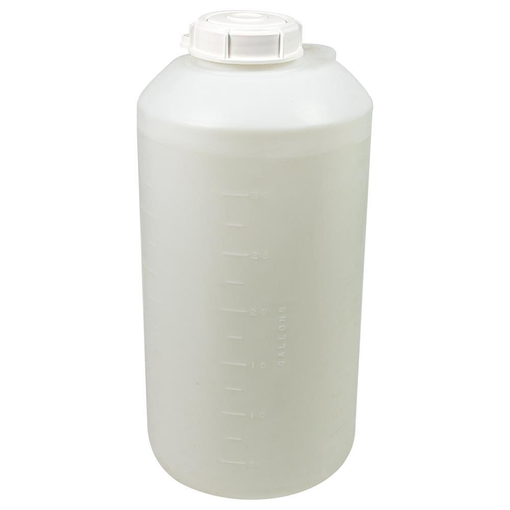 "100 Gallon Closed-Dome Tank 28-1/2""Dia. x 51-1/4""H (1/4"" Wall)"