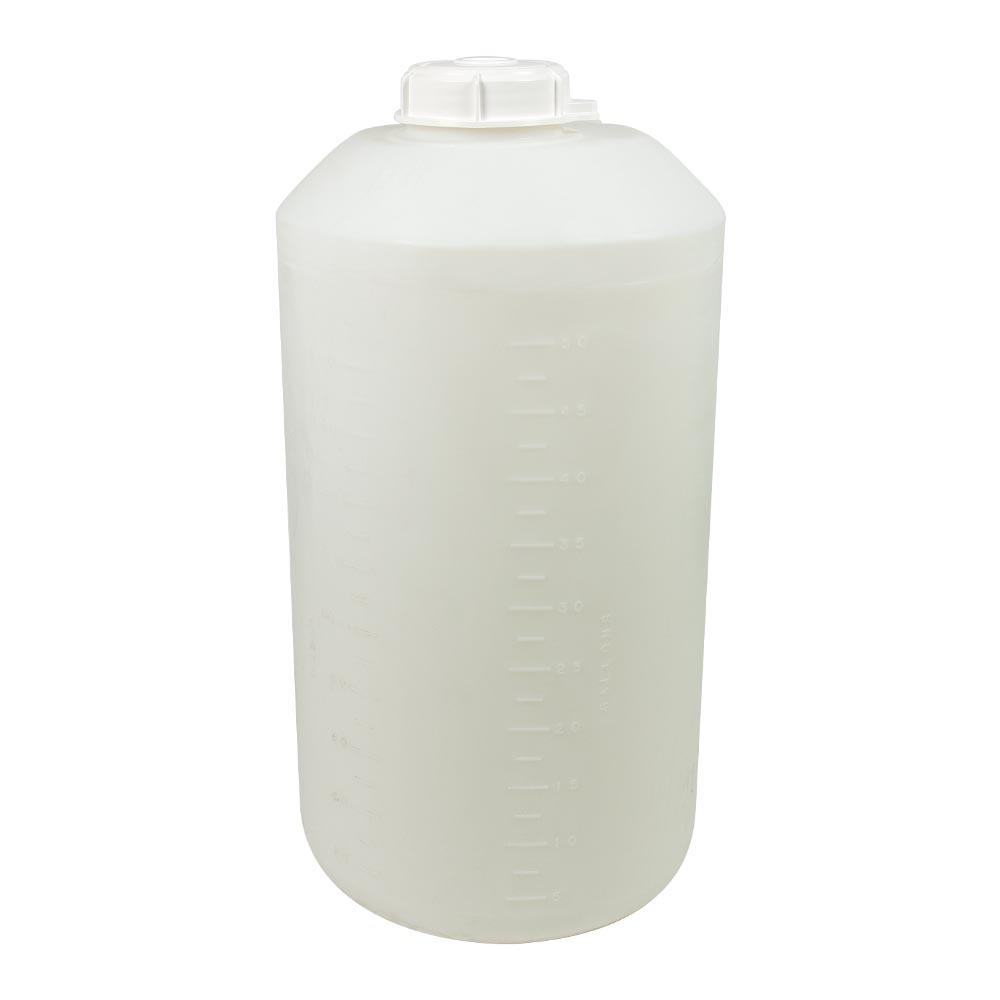 "55 Gallon Closed-Dome Tank 22-1/4""Dia. x 43-1/8""H (1/4"" Wall)"