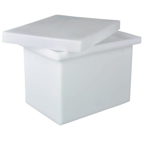 "10 Gallon Polyethylene Tank -  12"" L x 12"" W x 18"" H (Can Ship UPS)"