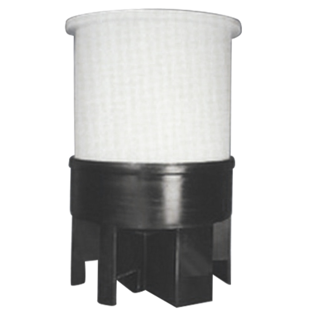 Cylindrical Cone Bottom Open Top Tanks with Support Stands