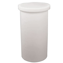 "5 Gallon Natural Heavy Weight Tamco® Tank - 11"" Dia. x 14"" Hgt. (Cover Sold Separately)"