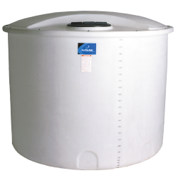 "1000 Gallon Open Top Tank w/Bolt-On Top - 74"" Dia. x 64"" H"
