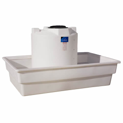 "625 Gallon Open Top Rectangular Tank - 108"" L x 72"" W x 24"" H *"