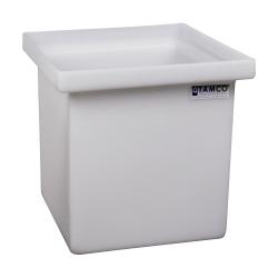 "6 Gallon Polyethylene Tamco® Tank - 12"" L x 12"" W x 12"" Hgt. (Can Ship UPS)"