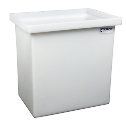 "15 Gallon Polyethylene Tamco® Tank - 18"" L x 12"" W x 18"" Hgt. (Can Ship UPS)"