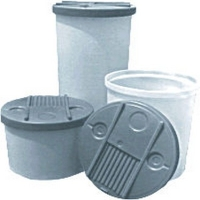 High Density Polyethylene Tapered Cylindrical Tanks