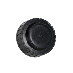 "1-5/8"" Top Vented Black Cap"