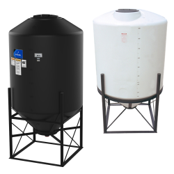 """Stand for 42"""" Diameter 45° Cone Bottom Tanks - 11"""" Clearance (Tanks #8876, #9427, #8878, #15635, #15659 & #15660)"""
