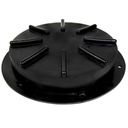 """12-1/2"""" Threaded Lid & Flange Assembly for Tamco® Tanks"""