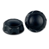 "2-1/4"" Un-vented Black Nylon Cap"