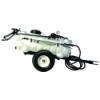 15 Gallon Trailer Sprayer with Wand, 2 Nozzle Boom & 2.2 GPM Pump