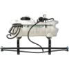 15 Gallon ATV Sprayer with Wand, Boom with 2 Nozzles & 2.2 GPM Pump
