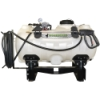 60 Gallon Utility Skid Mounted Sprayer with 7 Nozzles & 5.0 GPM Pump