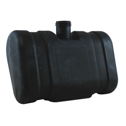 "2 Gallon CARB/EPA Black Tank with 2.25"" Neck (Cap Sold Separately)"
