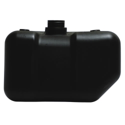 "2.5 Gallon CARB/EPA Black Tank with 2.25"" Neck"