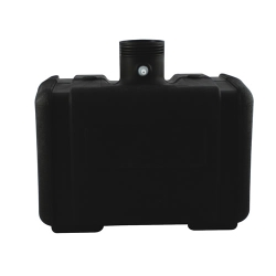 "5 Gallon CARB/EPA Black Tank with 3.5"" Neck (Cap Sold Separately)"