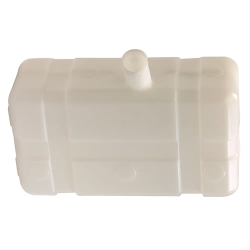 "5 Gallon Low Profile CARB/EPA Natural Tank with 2.25"" Center Neck"
