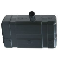 "5 Gallon Low Profile CARB/EPA Black Tank with 2.25"" Center Neck (Cap Sold Separately)"