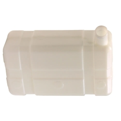 "5 Gallon Low  Profile CARB/EPA Natural Tank with 2.25"" End Neck"