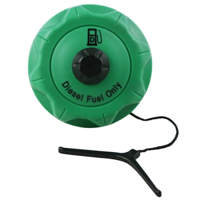 """2-1/4"""" Diesel Top Vent Cap with 4"""" Tether"""
