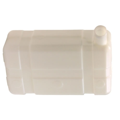 "5 Gallon Low  Profile CARB/EPA Natural Tank with 2.25"" End Neck (Cap Sold Separately)"