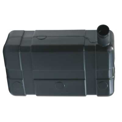 """5 Gallon Low  Profile CARB/EPA Black Tank with 2.25"""" End Neck (Cap Sold Separately)"""