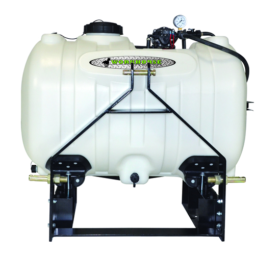 60 Gallon 3 Point Sprayer with 7 Nozzle & 2.2 GPM Pump