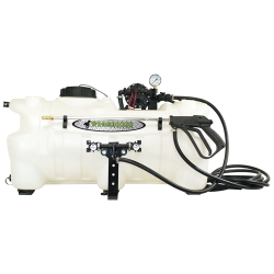 25 Gallon Boomless ATV Sprayer with Deluxe Wand & 4 GPM Pump