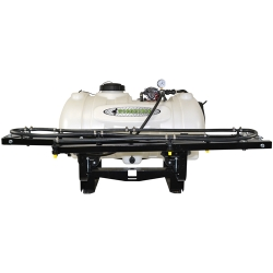 40 Gallon Utility Skid Mounted Sprayer with 5 Nozzles & 2.2 GPM Pump