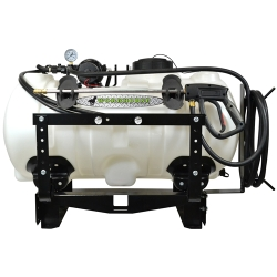 40 Gallon Utility Skid Mounted Sprayer with Wand & 5.0 GPM Pump