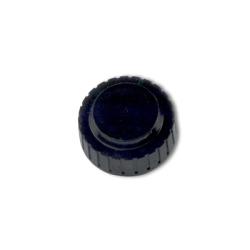"1-5/8"" Top Vented Black Cap"