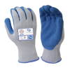 Large Gray Cotton & Latex General Purpose Gloves