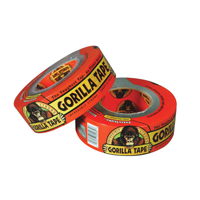 "Gorilla Tape® Silver 1.88"" x 35 Yards"