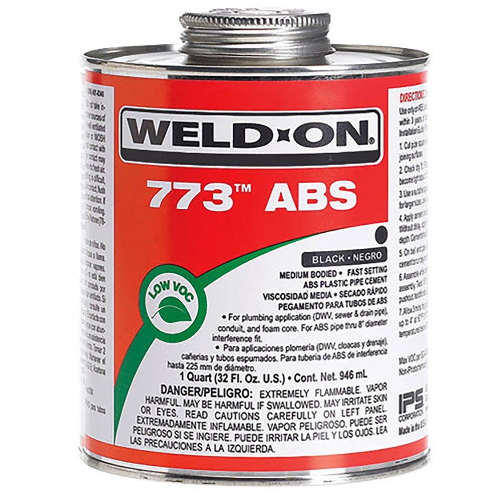 Black IPS® Weld-On 773™ ABS Cement