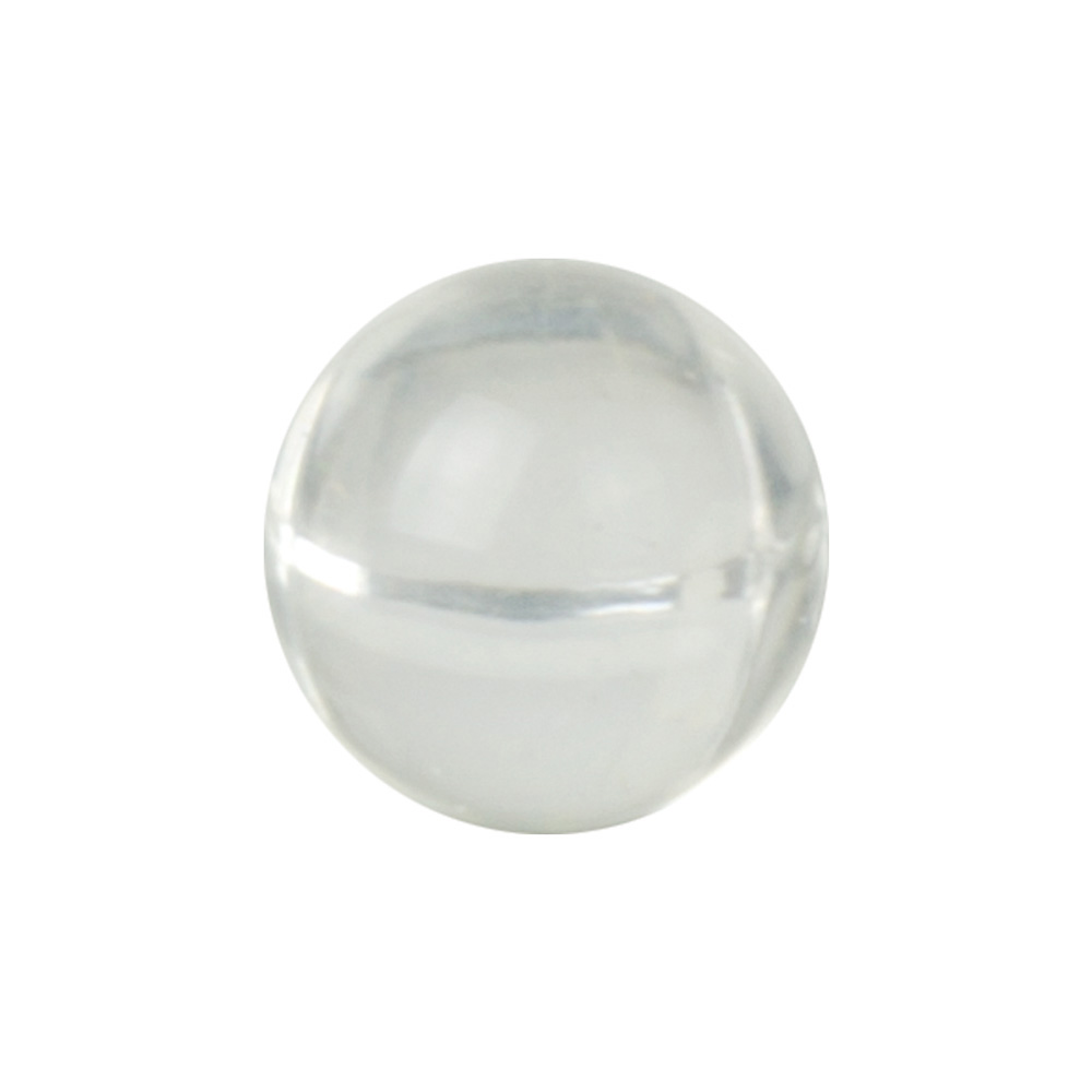 Solid Round Clear Acrylic Balls