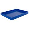 "16-5/8"" L x 12-3/8"" W x 1-1/2"" Hgt. Blue Tamco® Tray"