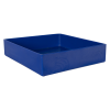 "12"" L x 12"" W x 3"" Hgt. Blue Tamco® Tray"