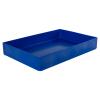 "18"" L x 12"" W x 3"" Hgt. Blue Tamco® Tray"