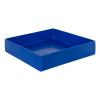"14"" L x 14"" W x 3"" Blue Tamco® Tray"