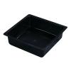Black 1 Gallon HDPE Drip Pan