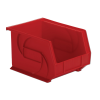 "10-3/4"" L x 8-1/4"" W x 7"" Hgt. Red Hang & Stack Bin"