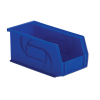 "10-7/8"" L x 5-1/2"" W x 5"" Hgt. Blue Hang & Stack Bin"