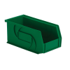 "10-7/8"" L x 5-1/2"" W x 5"" Hgt. Green Hang & Stack Bin"
