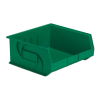 "14-3/4"" L x 16-1/2"" W x 7"" Hgt. Green Hang & Stack Bin"