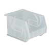 "10-3/4"" L x 8-1/4"" W x 7"" Hgt. Clear Hang & Stack Bin"