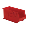 "18"" L x 8-1/4"" W x 9"" Hgt. Red Hang & Stack Bin"