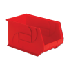 "18"" L x 11"" W x 10"" Hgt. Red Hang & Stack Bin"