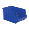 "18"" L x 11"" W x 10"" Hgt. Blue Hang & Stack Bin"